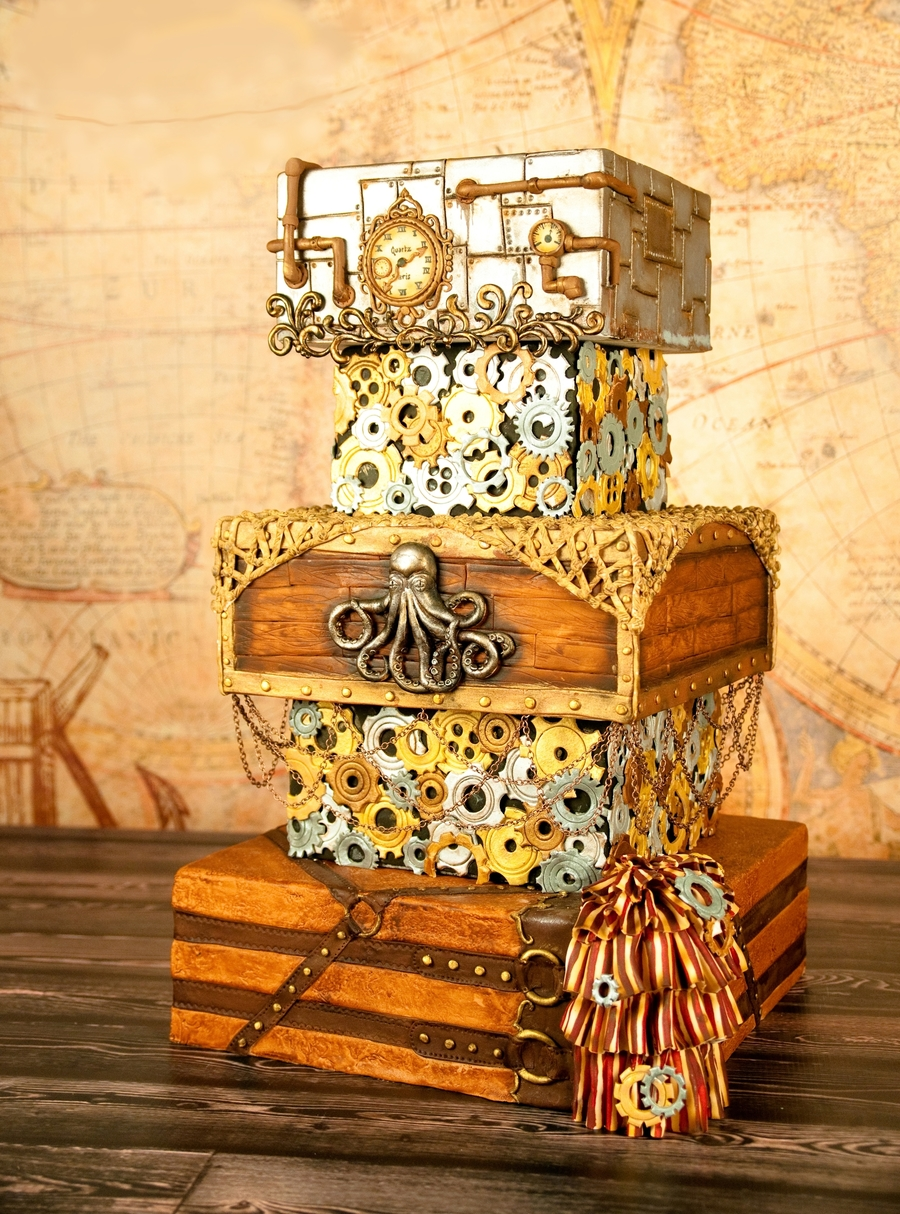 Steampunk Pirate on Cake Central