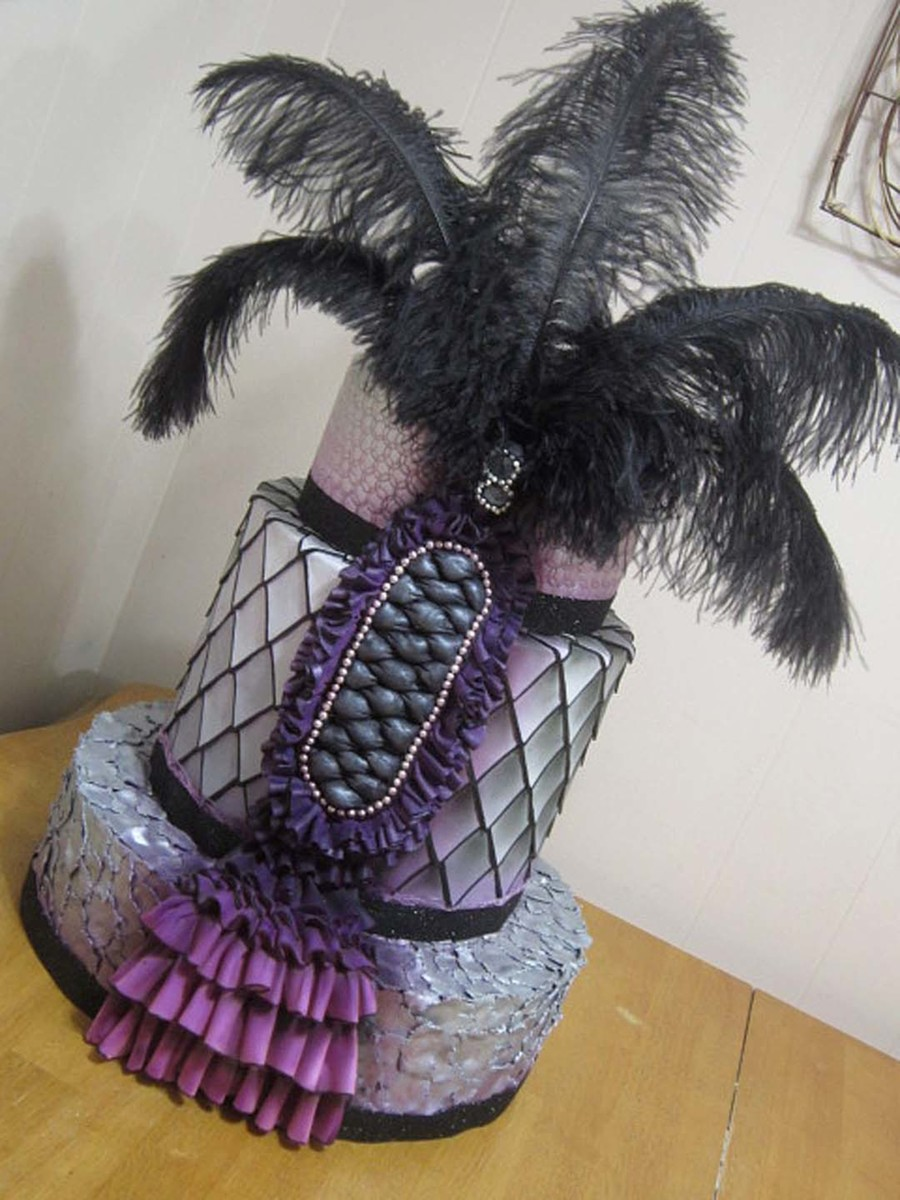 Couture Cake (Textures) on Cake Central