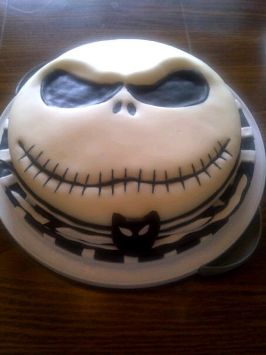 Jack Skellington on Cake Central