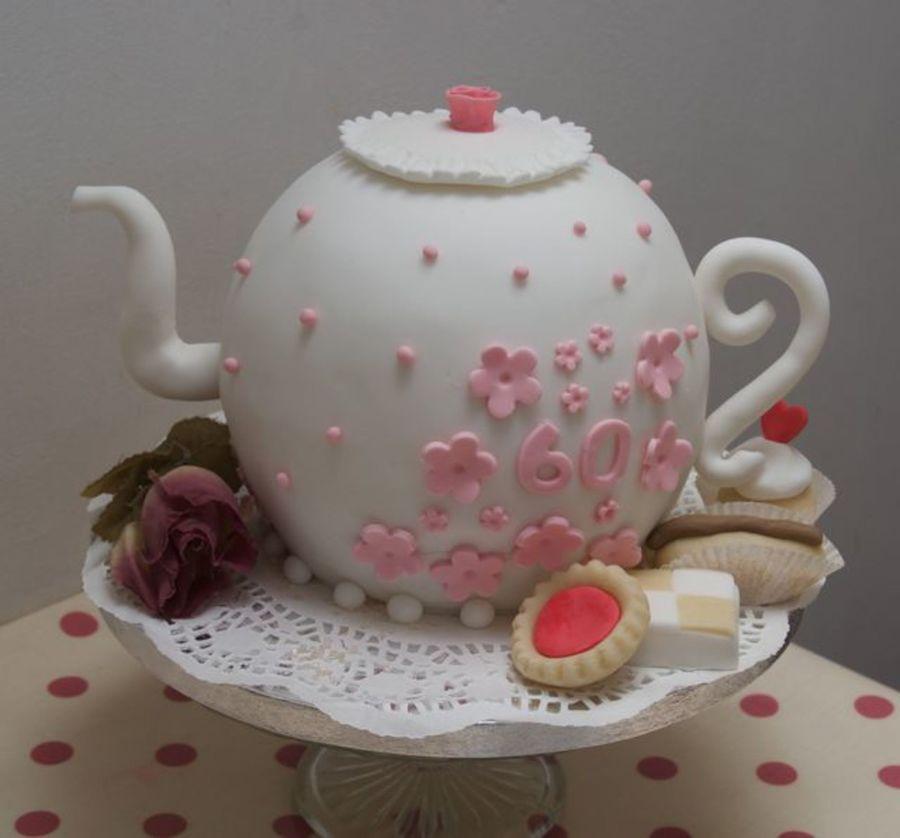 Teapot Birthday Cake Tutorial