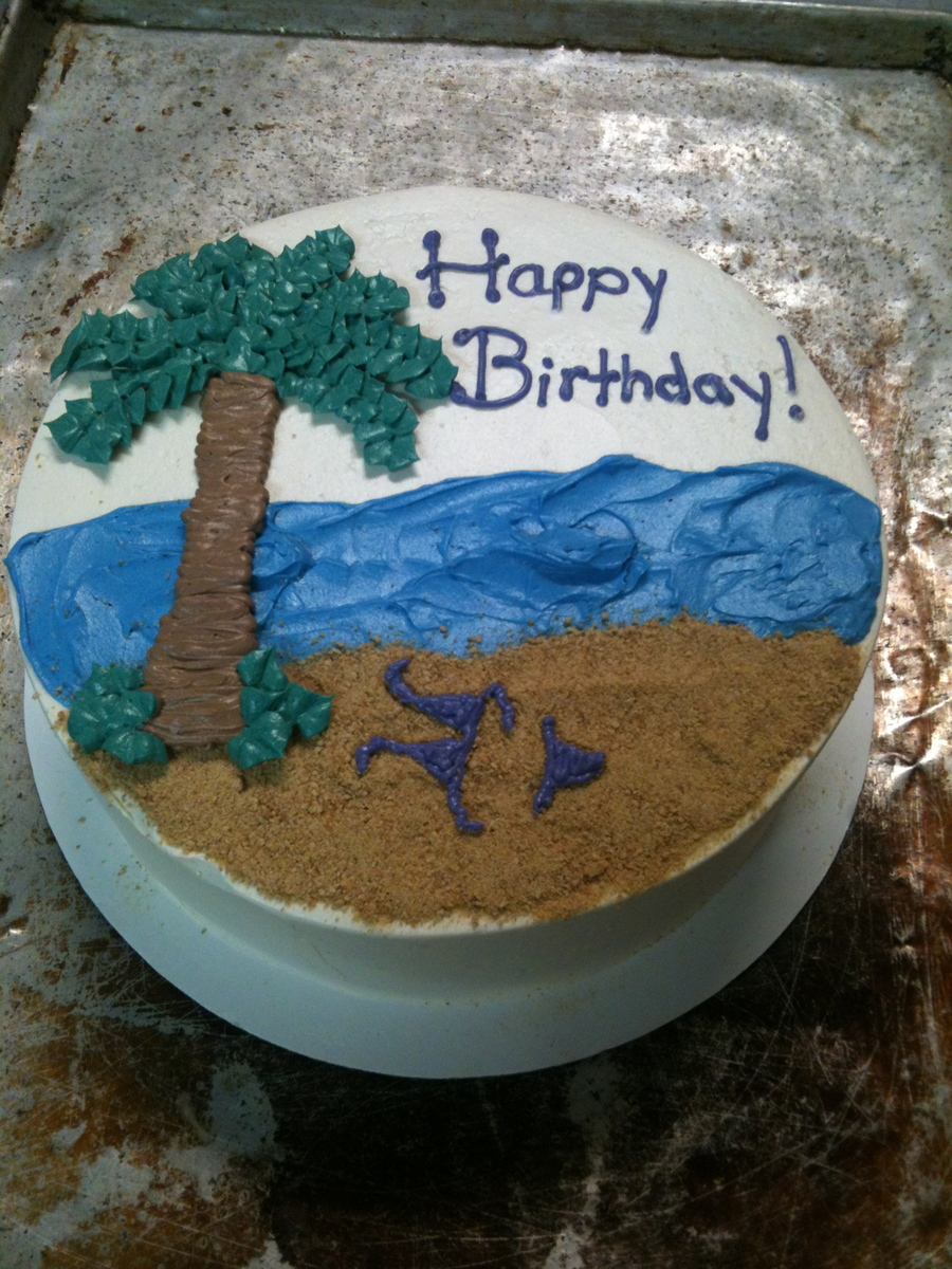 Beach Birthday on Cake Central
