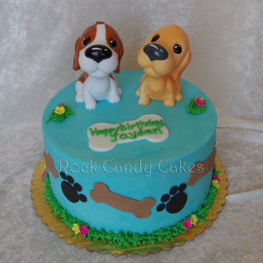The Dog Birthday Cake on Cake Central
