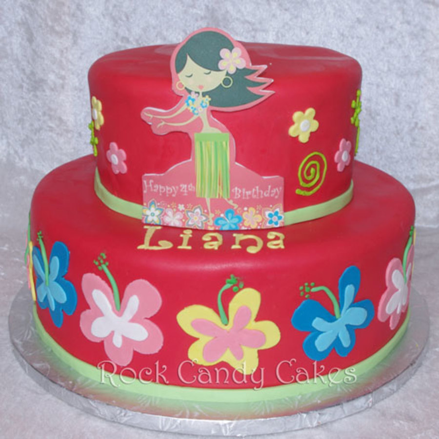 Hula Part on Cake Central