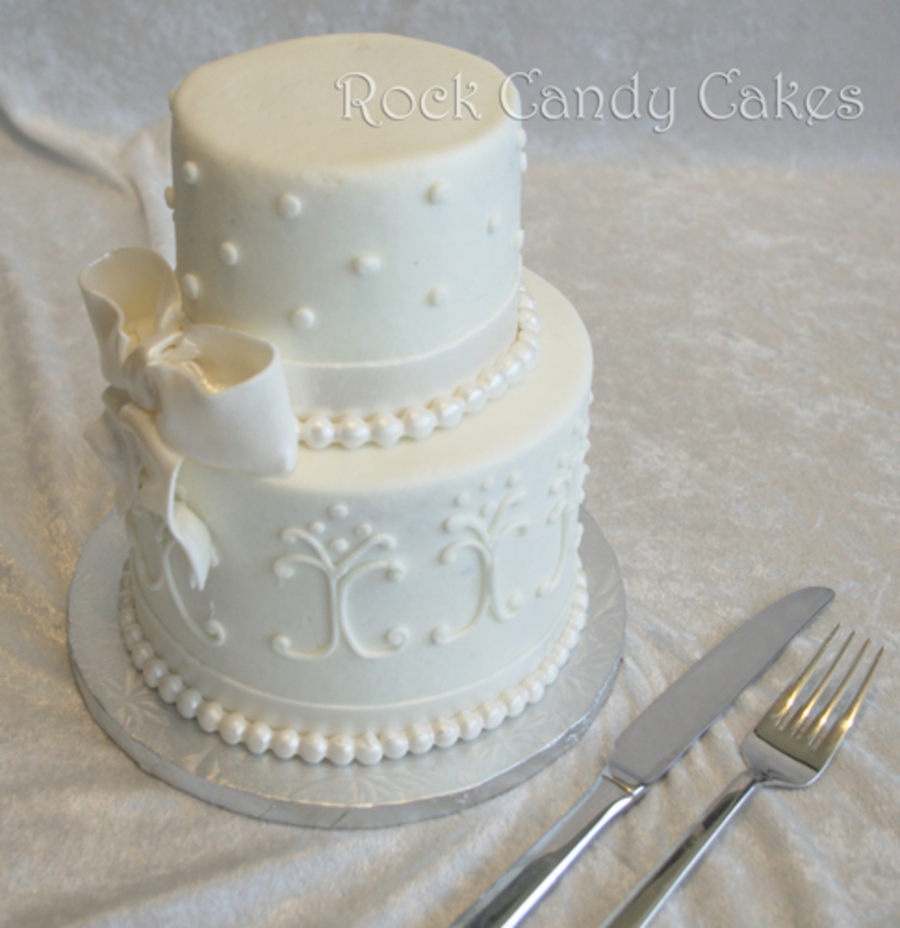 Mini Wedding Cake Cakecentral Com