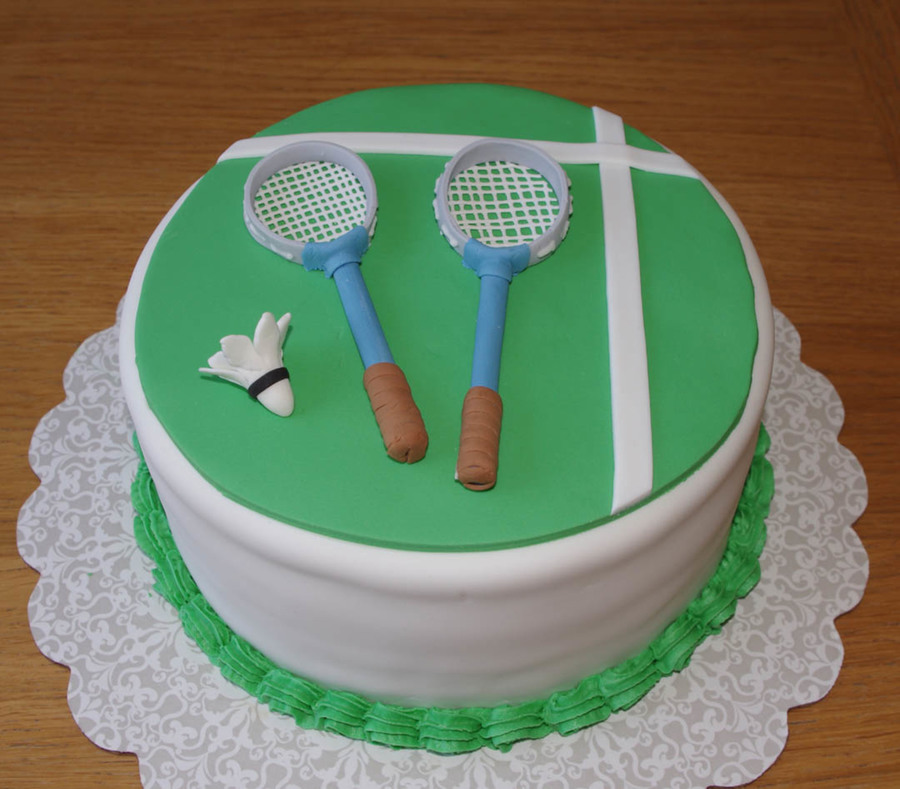 Badminton Birthday Cake