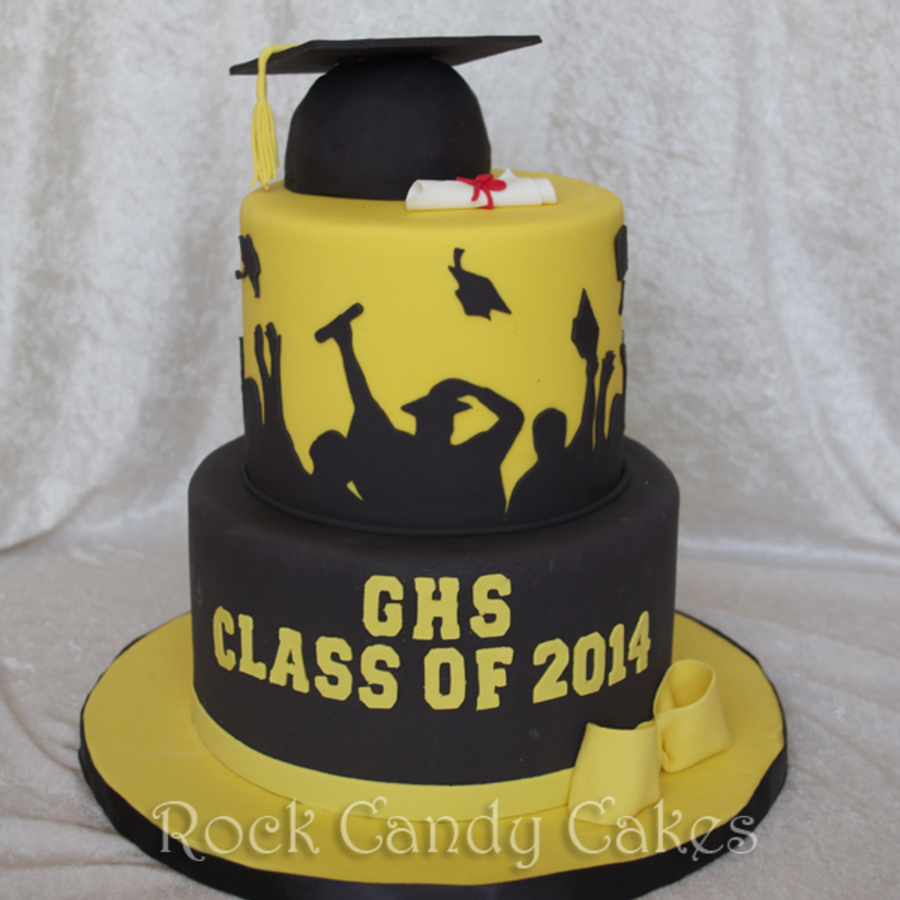 Graduation Silhouette on Cake Central