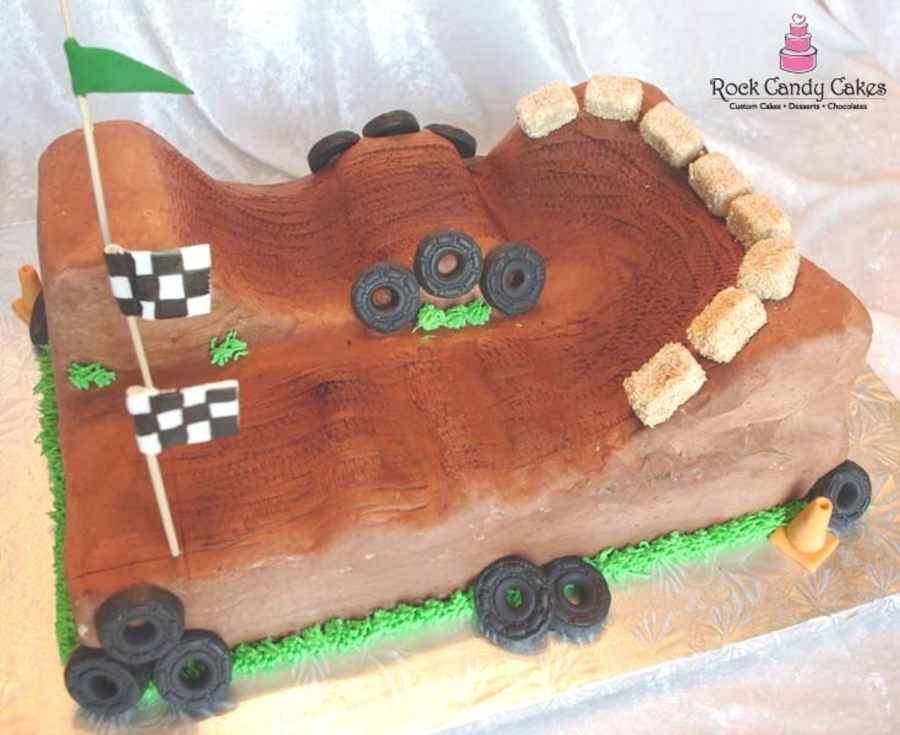 Dirt Bike Track on Cake Central