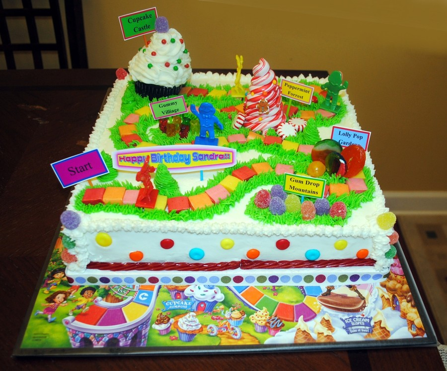 Game Board Cake Decorating Ideas