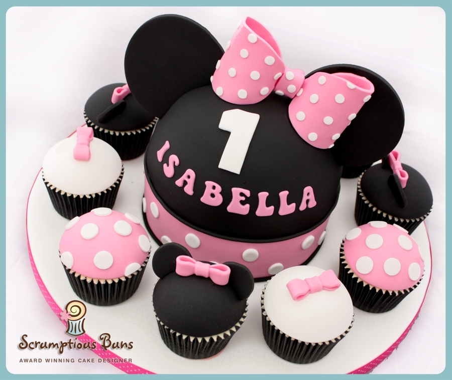 Big Cake Little Cakes : Minnie Mouse on Cake Central