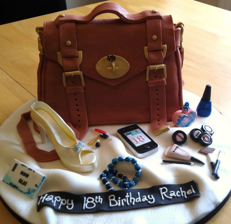 Burberry Bag on Cake Central