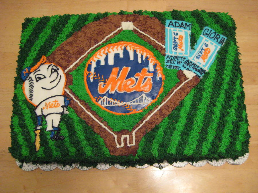 Ny Mets Grooms Cake on Cake Central