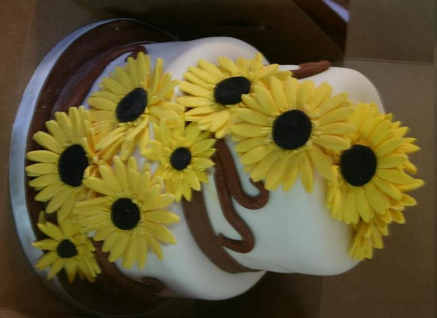 Sunflower Bridal Shower on Cake Central