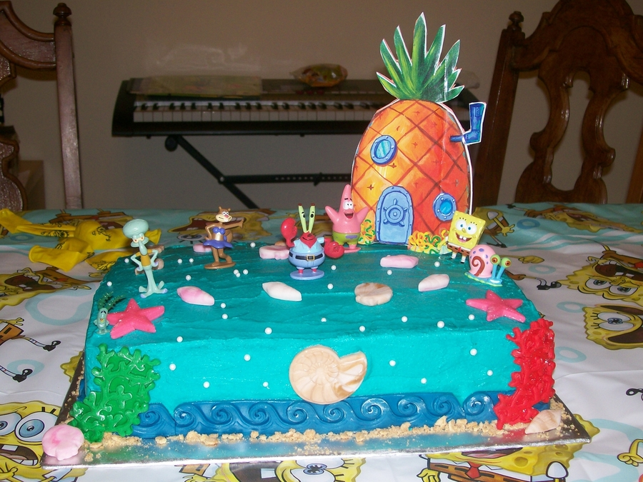 Spongebob And Friends on Cake Central