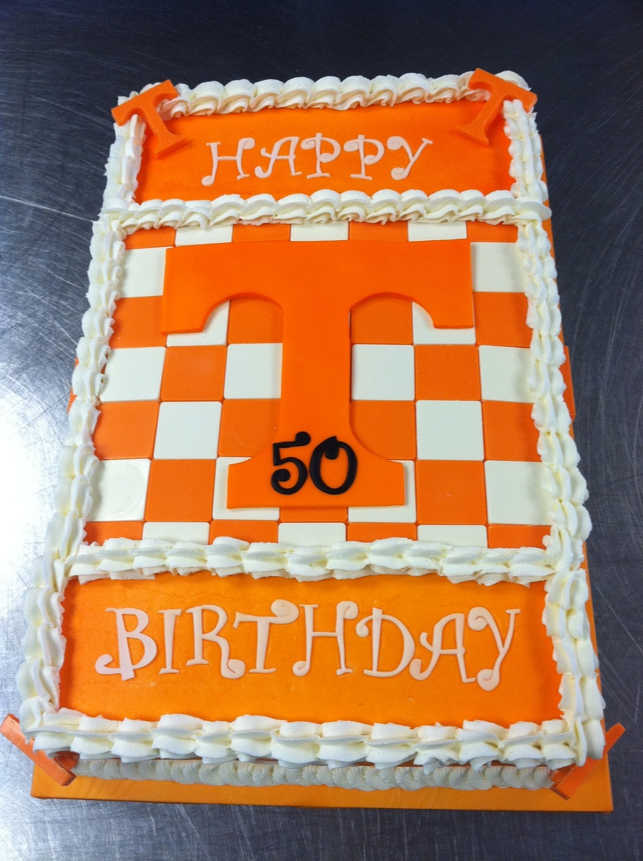 Tennessee Vols Logo Cake on Cake Central
