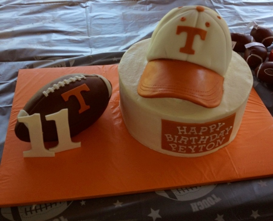 Tn Football Cake on Cake Central