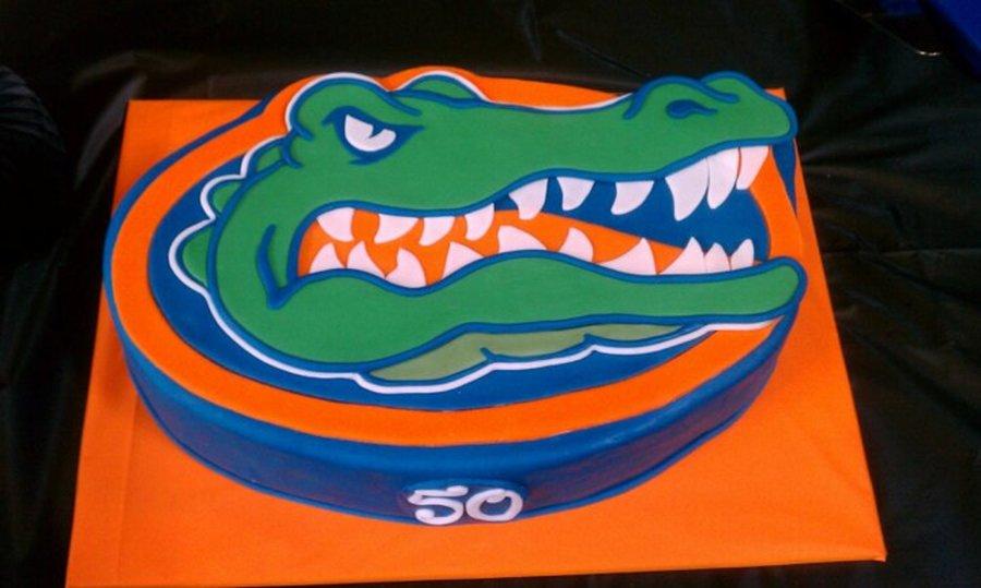 Florida Gators Logo Cake Cakecentral
