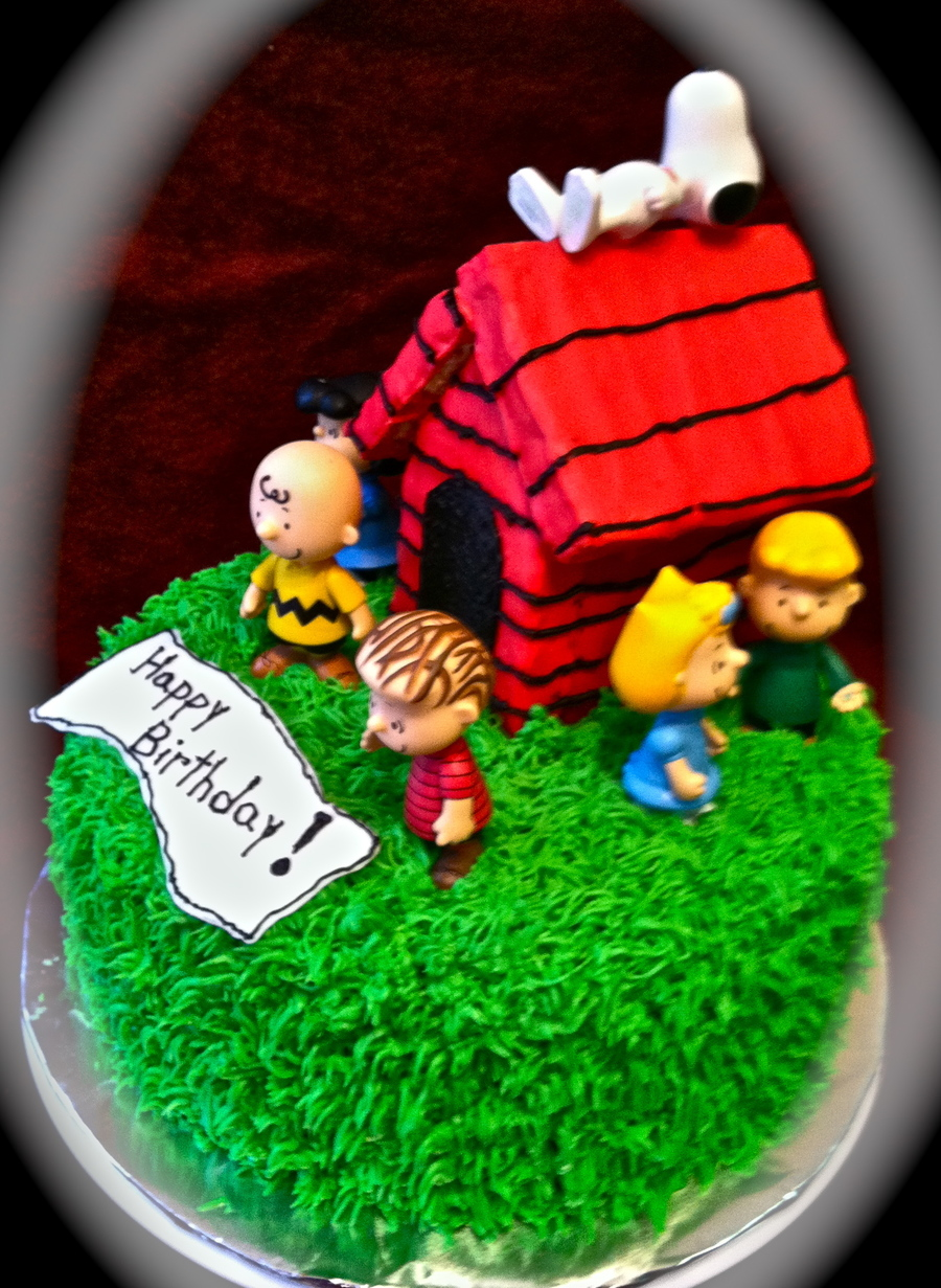 A Charlie Brown Birthday - CakeCentral.com