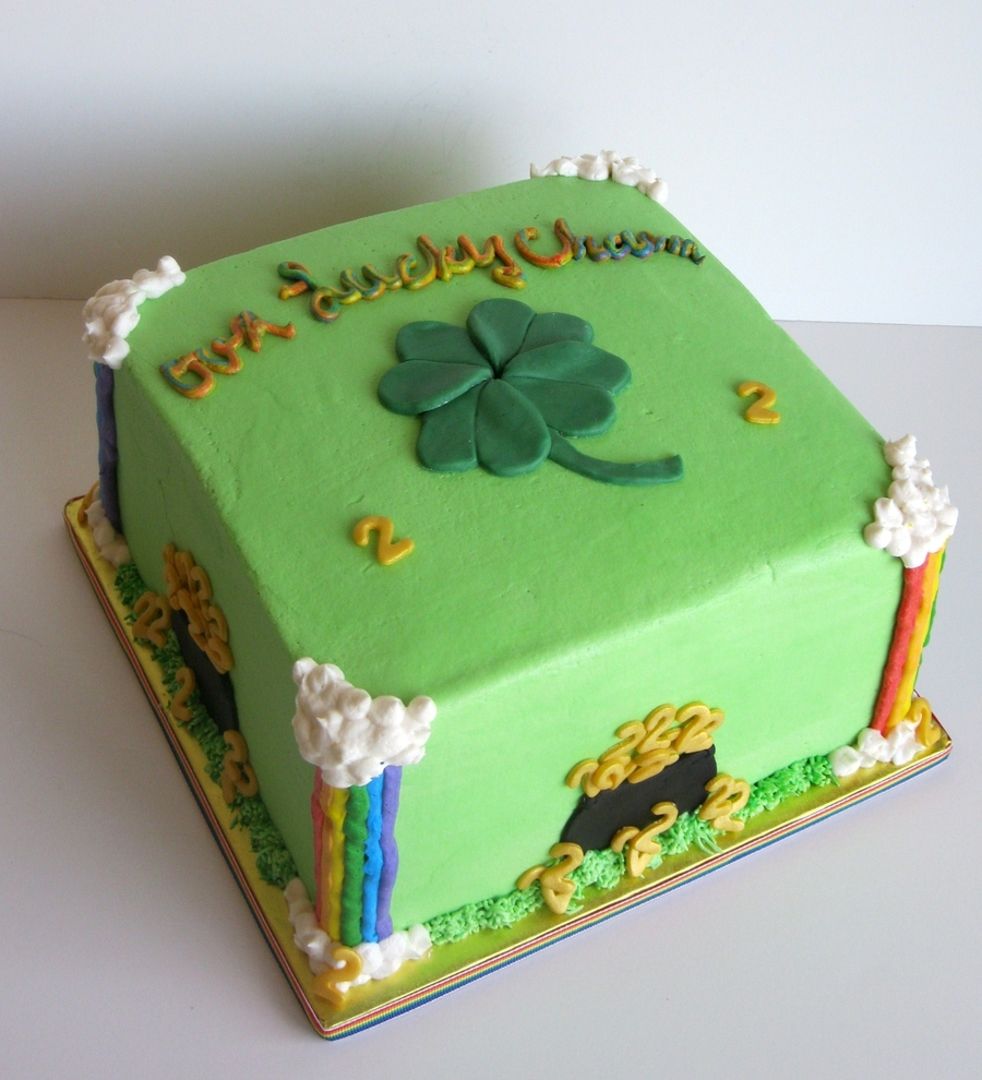 St. Patricks Day Birthday Cake on Cake Central