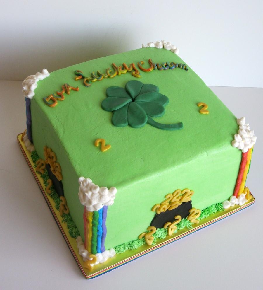 Tremendous St Patricks Day Birthday Cake Cakecentral Com Funny Birthday Cards Online Necthendildamsfinfo