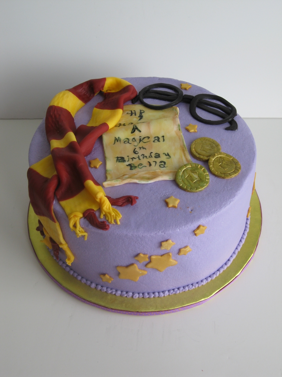 Cake Designs Harry Potter :