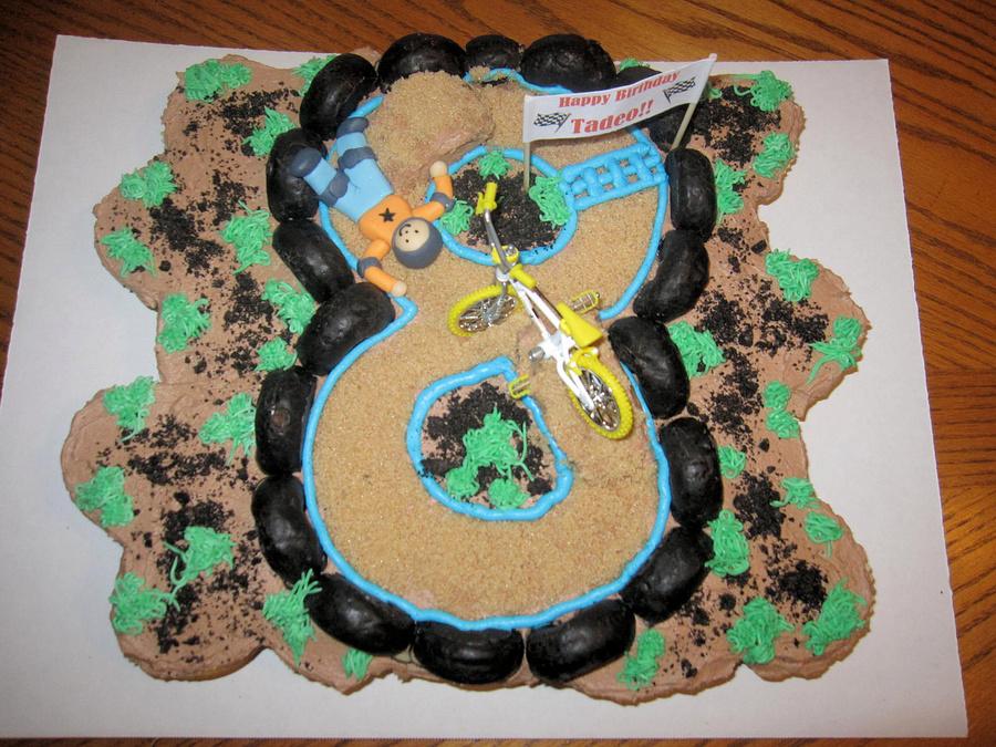 Bmx Bike Cupcake Cake Cakecentral Com