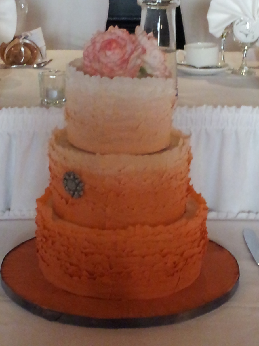 Frilly Cake on Cake Central