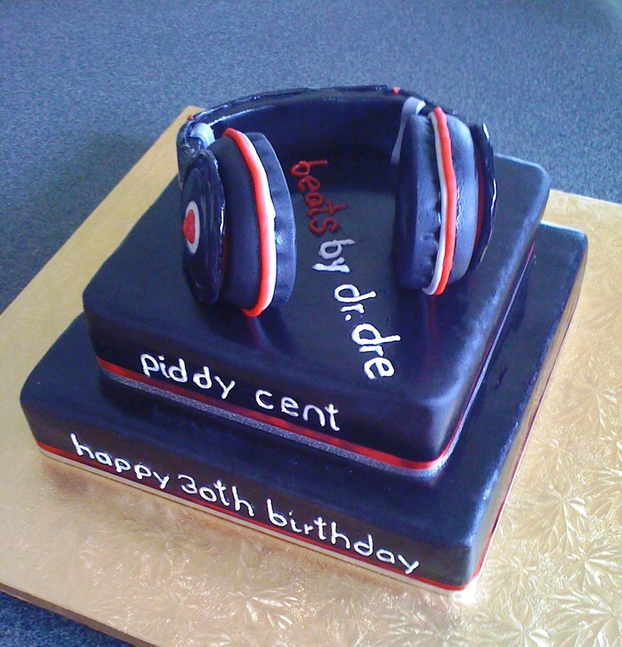 Terrific Dj Birthday Cake Cakecentral Com Personalised Birthday Cards Cominlily Jamesorg