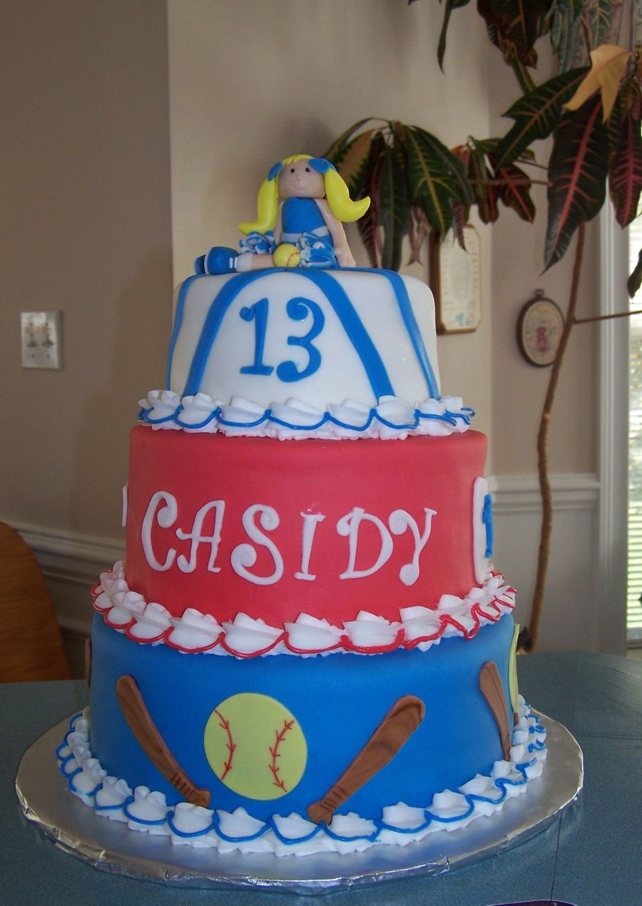 Cheerleader/softball Player on Cake Central