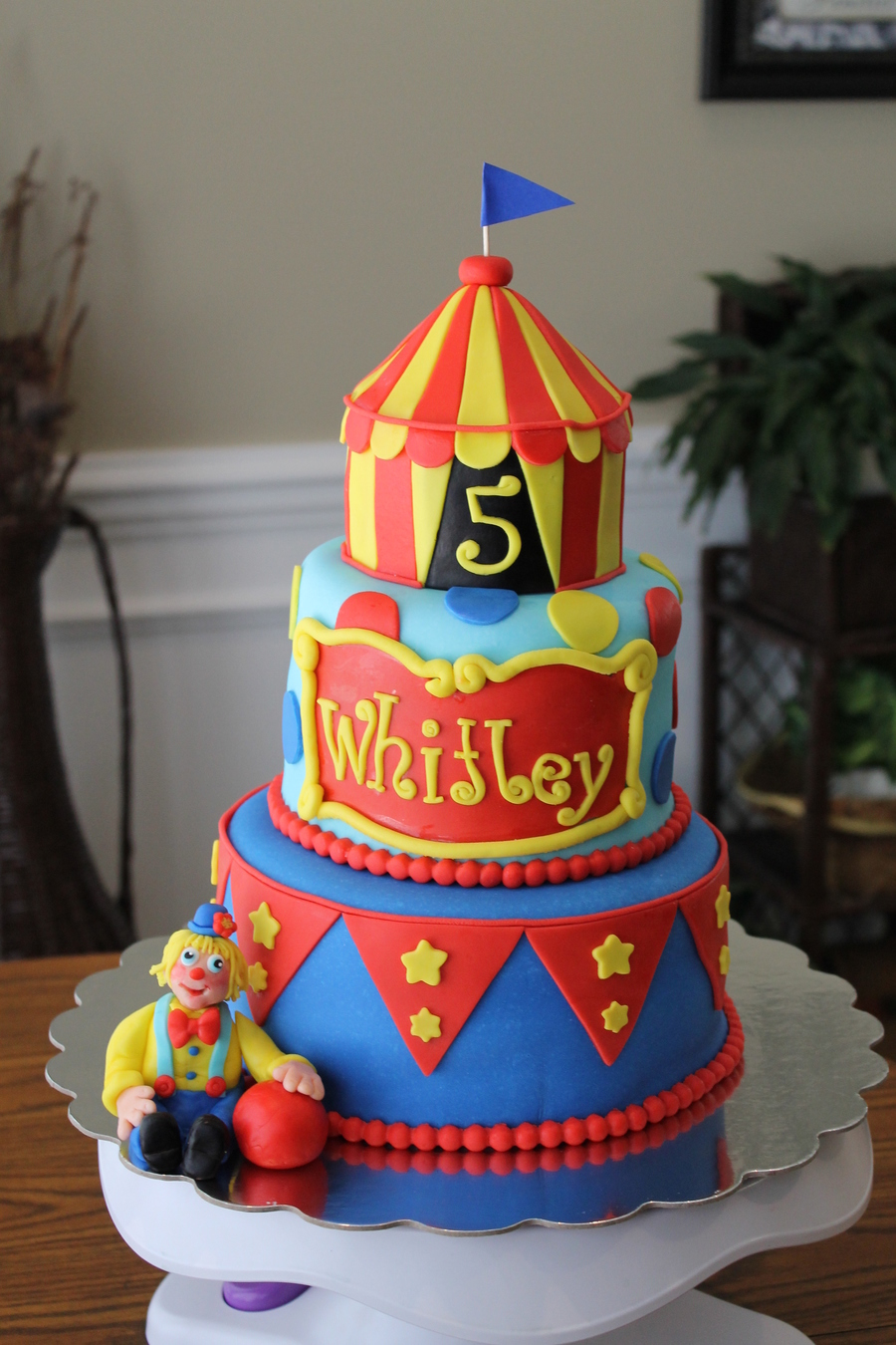 Circus Theme  on Cake Central