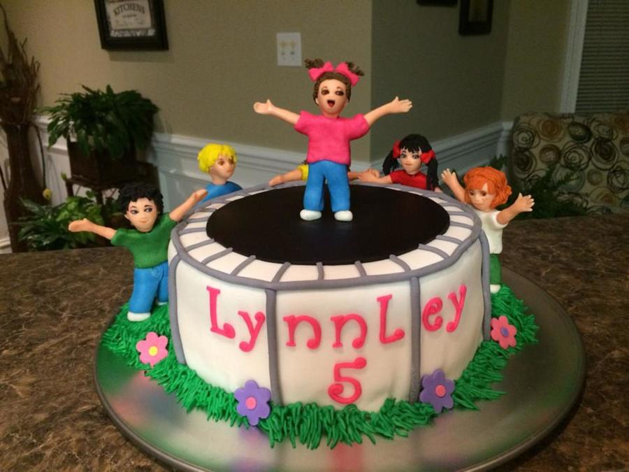 Trampoline Party Cakecentral Com