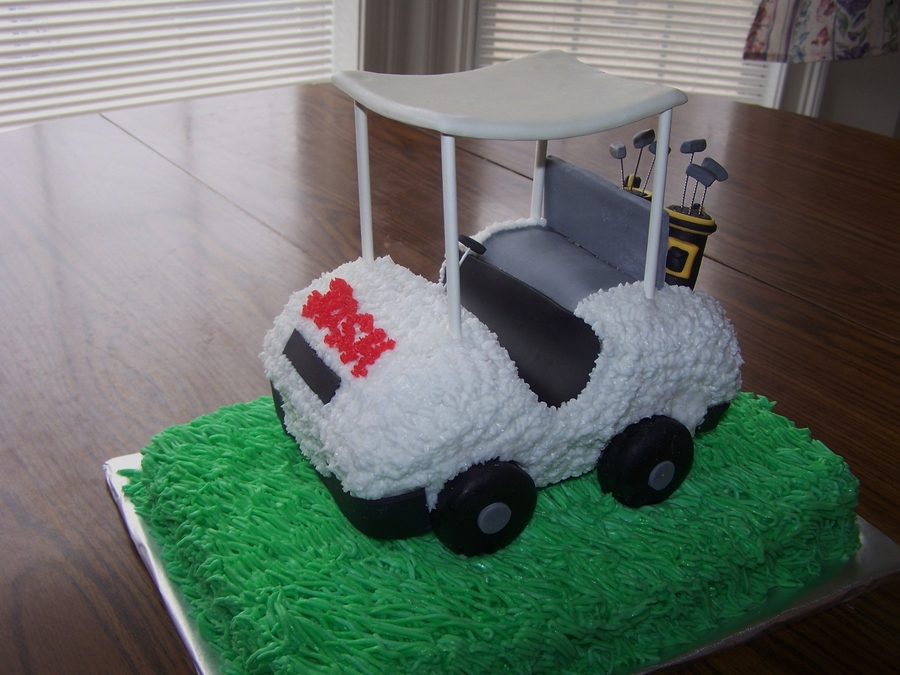 Golf Cart Cake  on Cake Central