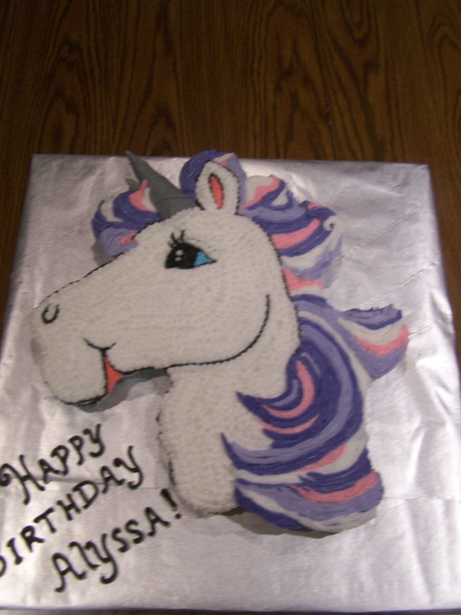 Horse Shaped Birthday Cake Recipe