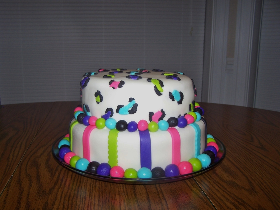 Cheetah Print  on Cake Central