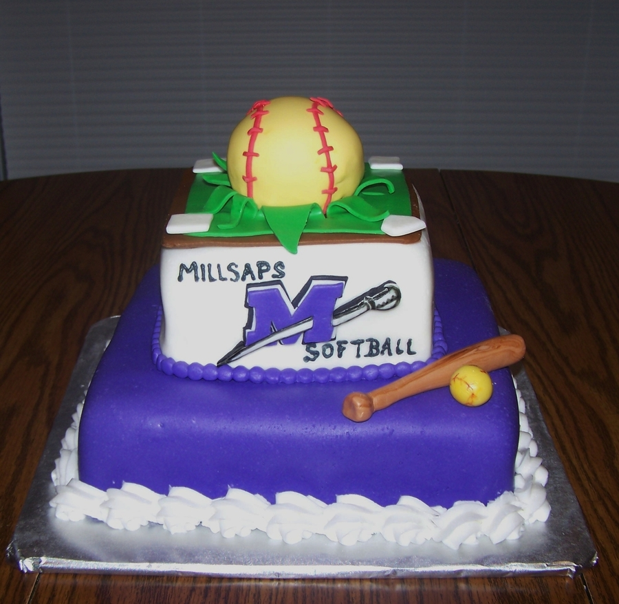 Softball Celebration on Cake Central