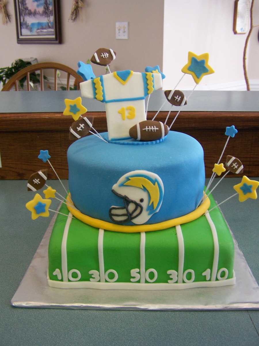 Football Theme on Cake Central