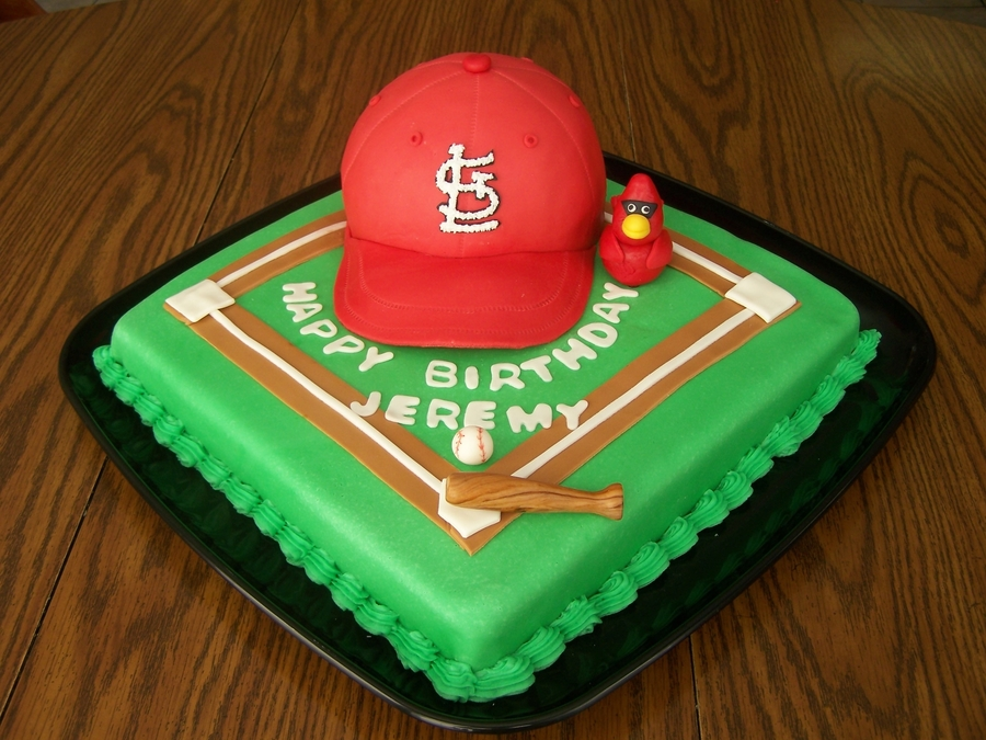 St Louis Cardinals  on Cake Central