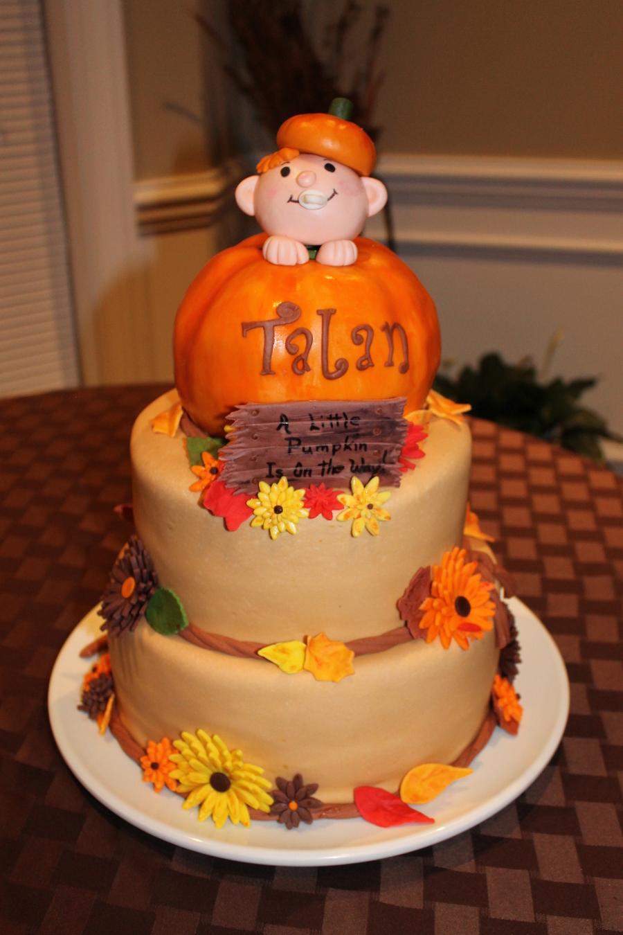 Little Princess Baby Shower Cake - CakeCentral.com