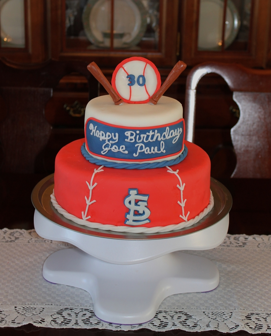 St Louis Cardinals Cake on Cake Central