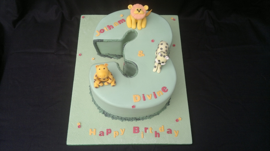 3Rd Birthday Cake, Number 3  on Cake Central