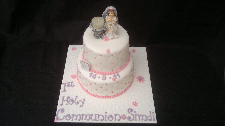 1St Holy Communion Cake on Cake Central