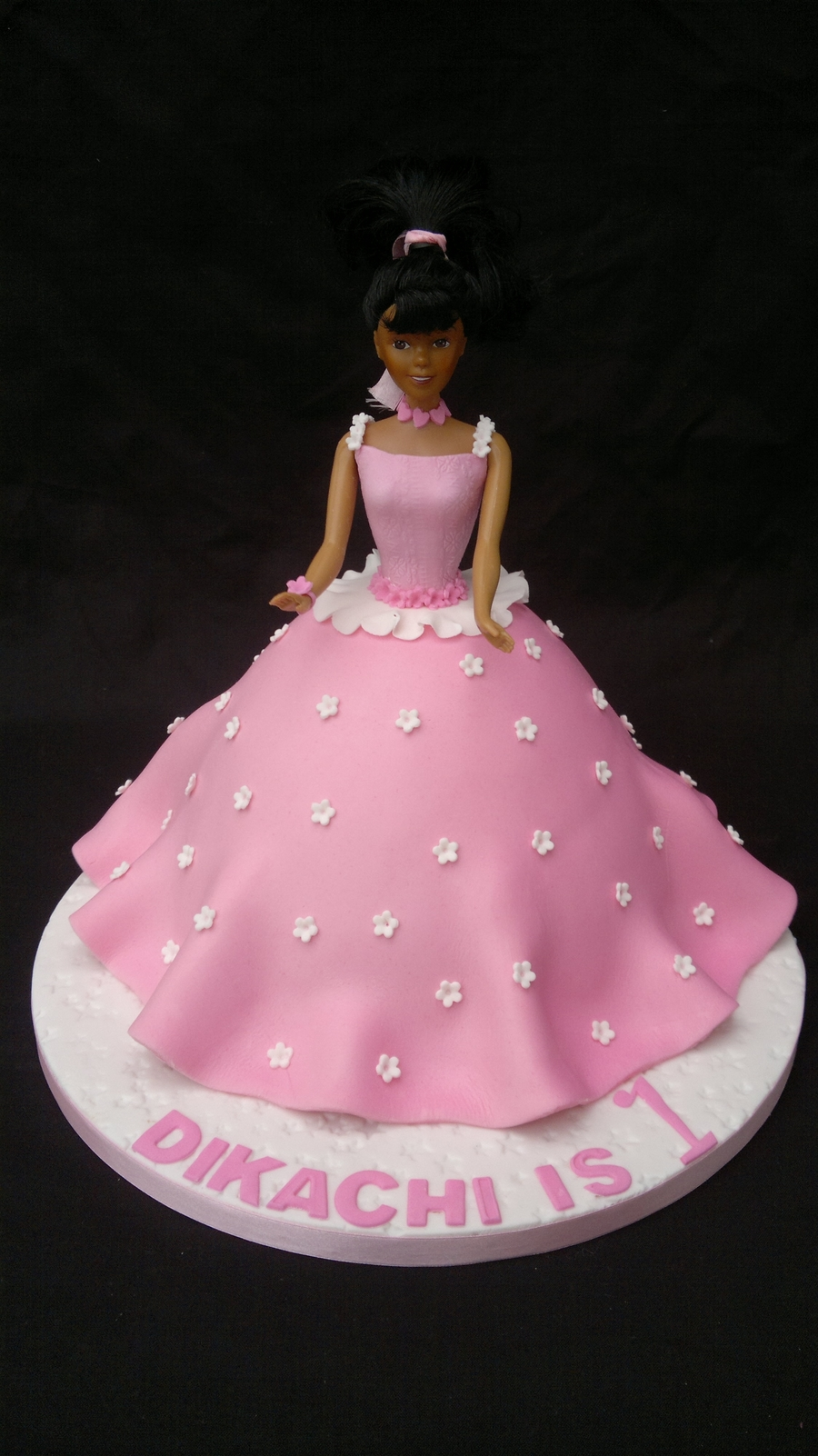 Barbie Cake  on Cake Central