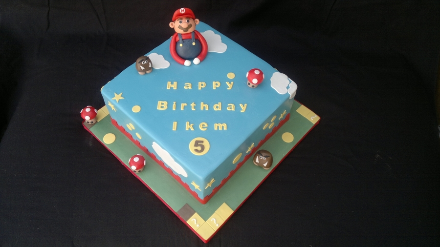 Supermario Cake on Cake Central