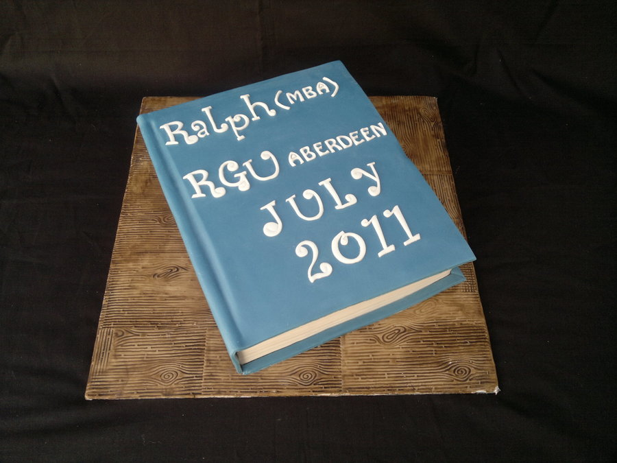 Graduation Book Cake on Cake Central