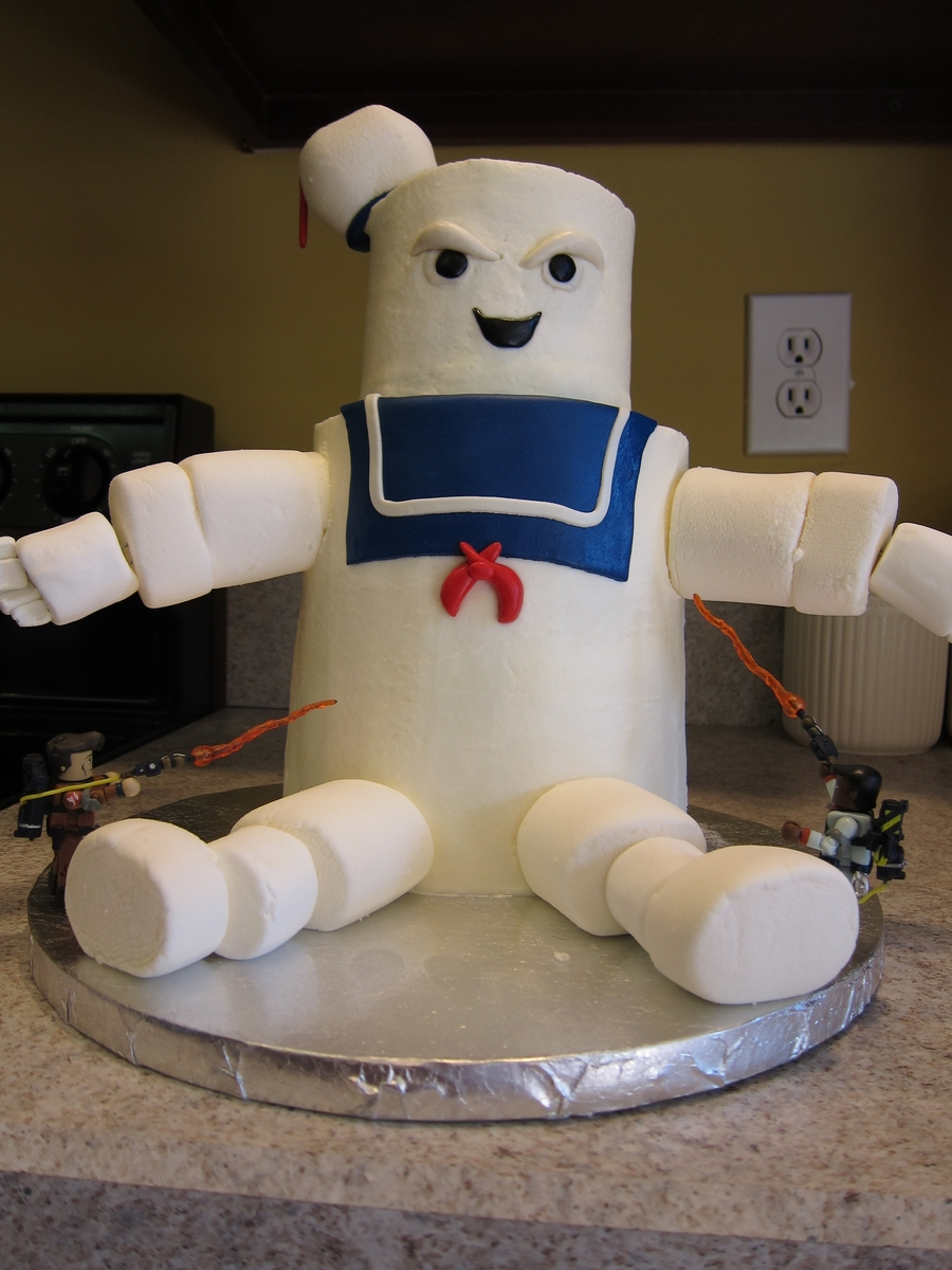 Stay Puft Marshmallow Mann Cakecentral Com
