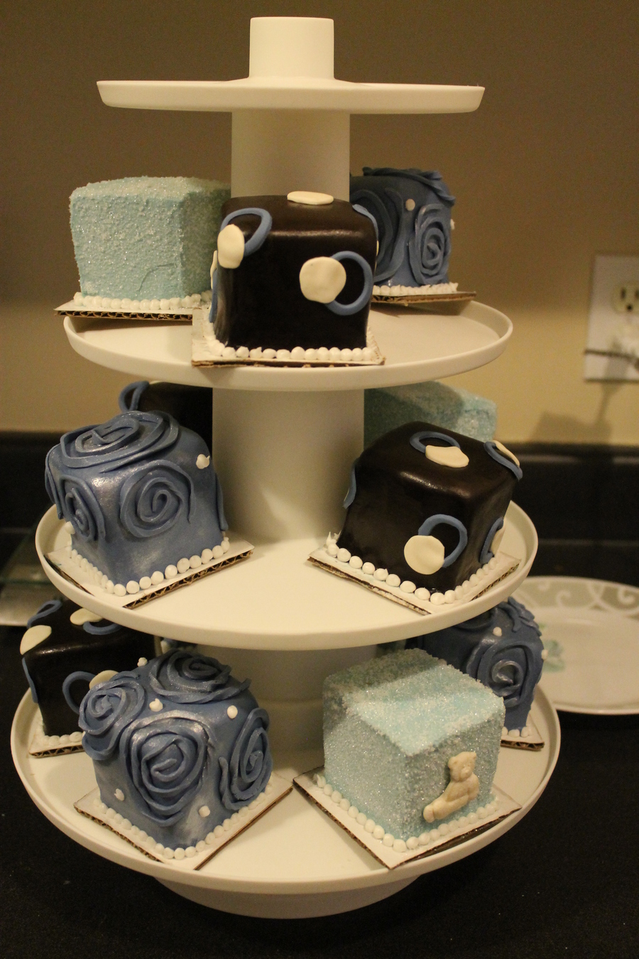 Mini Cakes For Boy Baby Shower on Cake Central