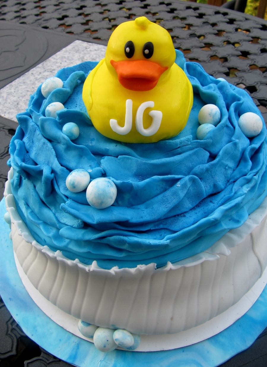 Rubber Ducky  on Cake Central