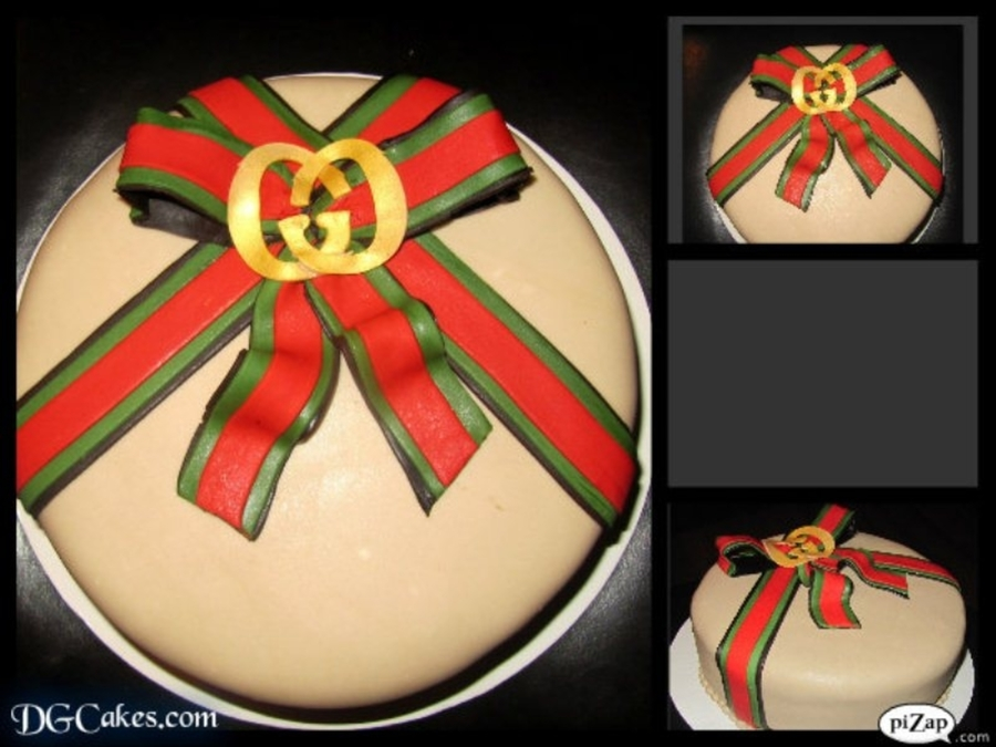 Gucci B-Day Cake on Cake Central