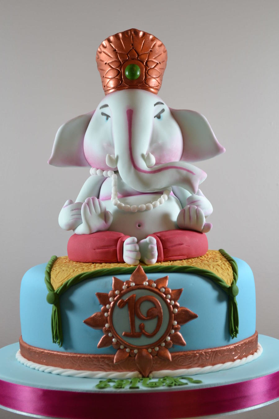 Ganesh Birthday Cake - CakeCentral.com