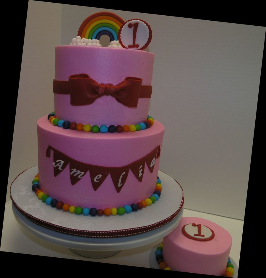 Over The Rainbow on Cake Central