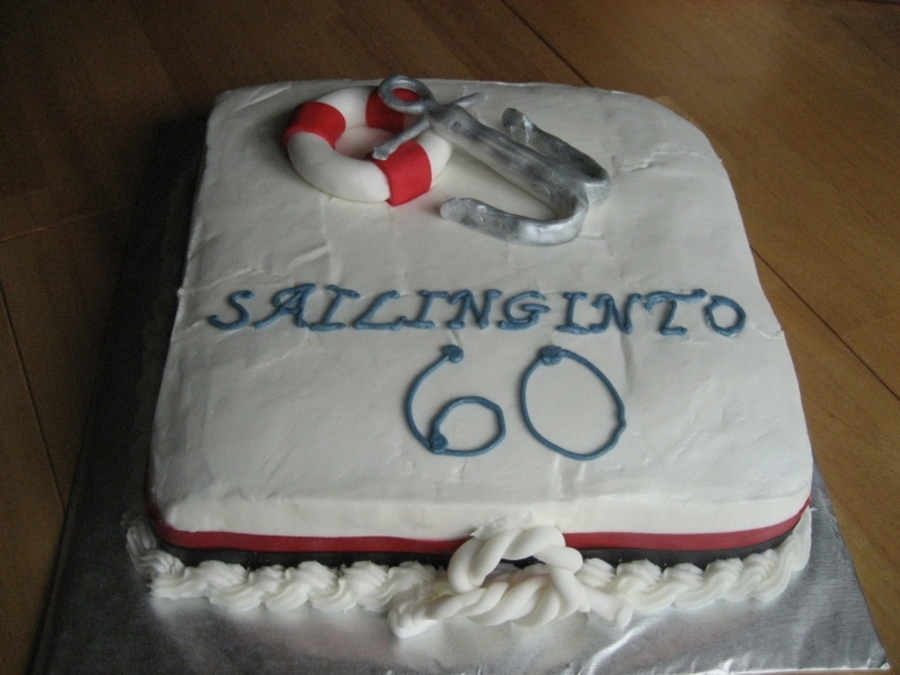 Sailing Into 60 on Cake Central
